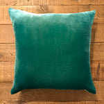 18x18 Ombre Velvet Pillow - Emerald