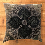 20x20 Velvet Pillow - Persian Velvet Shark