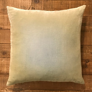 Velvet Pillow 22x22 - Ombre Ice