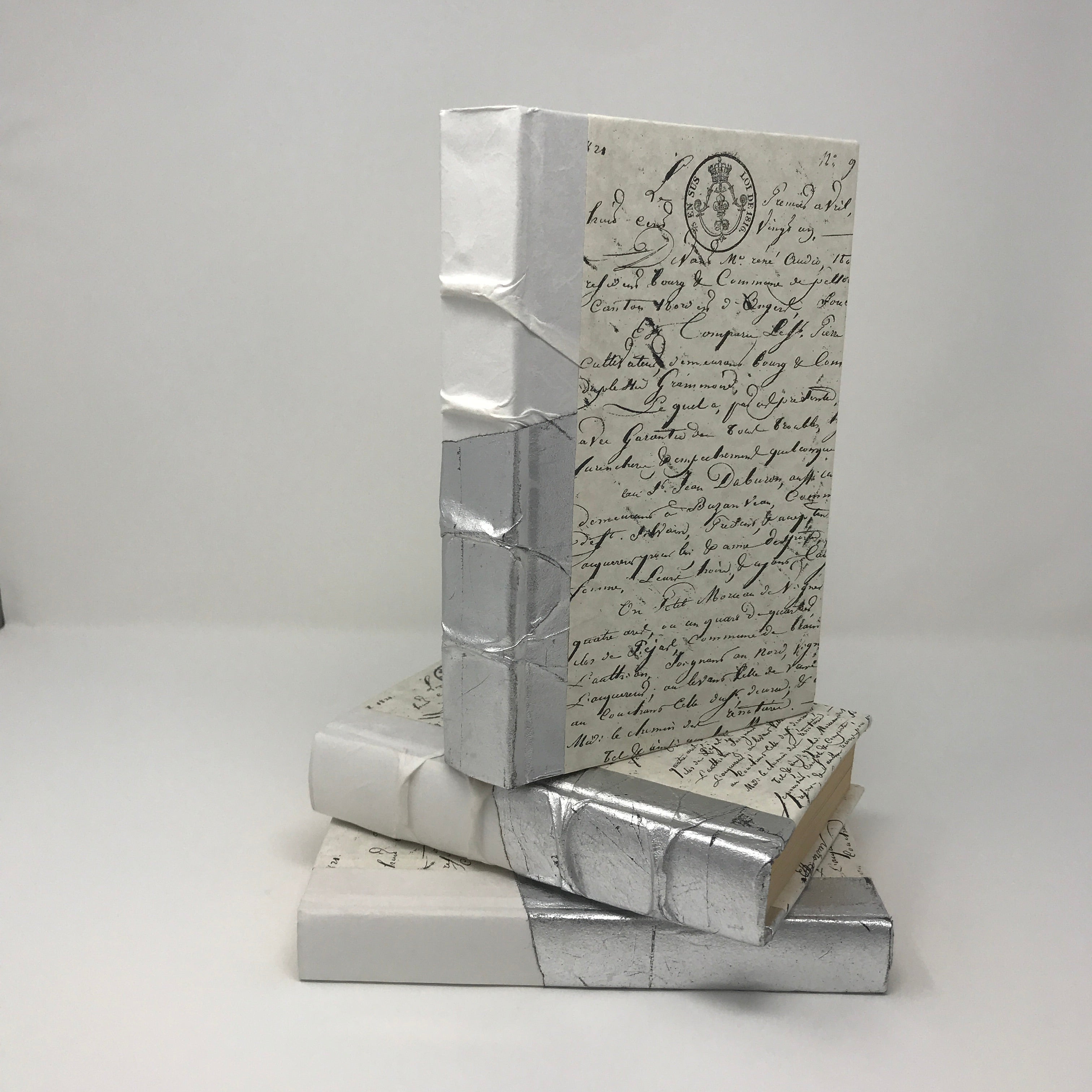 Cursive Writing Books - Silver Dipped