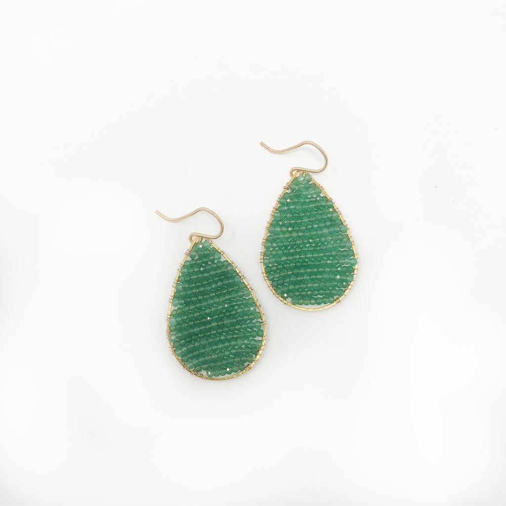 Regular Posh Earrings - Turquoise