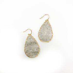 Regular Posh Earrings - Pyrite