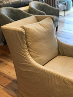 Highback Swivel Glider