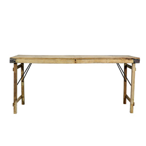 Wood Wedding Table, Bleached