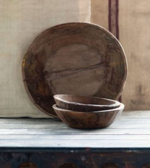 Village Wood Bowl - Large