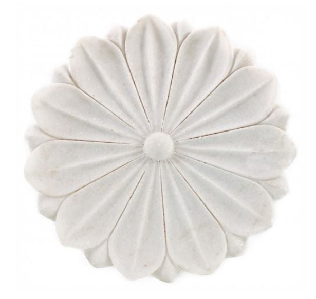 Marble Lotus Flower Tray