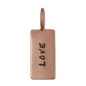 Love ID Tag Unframed Charm