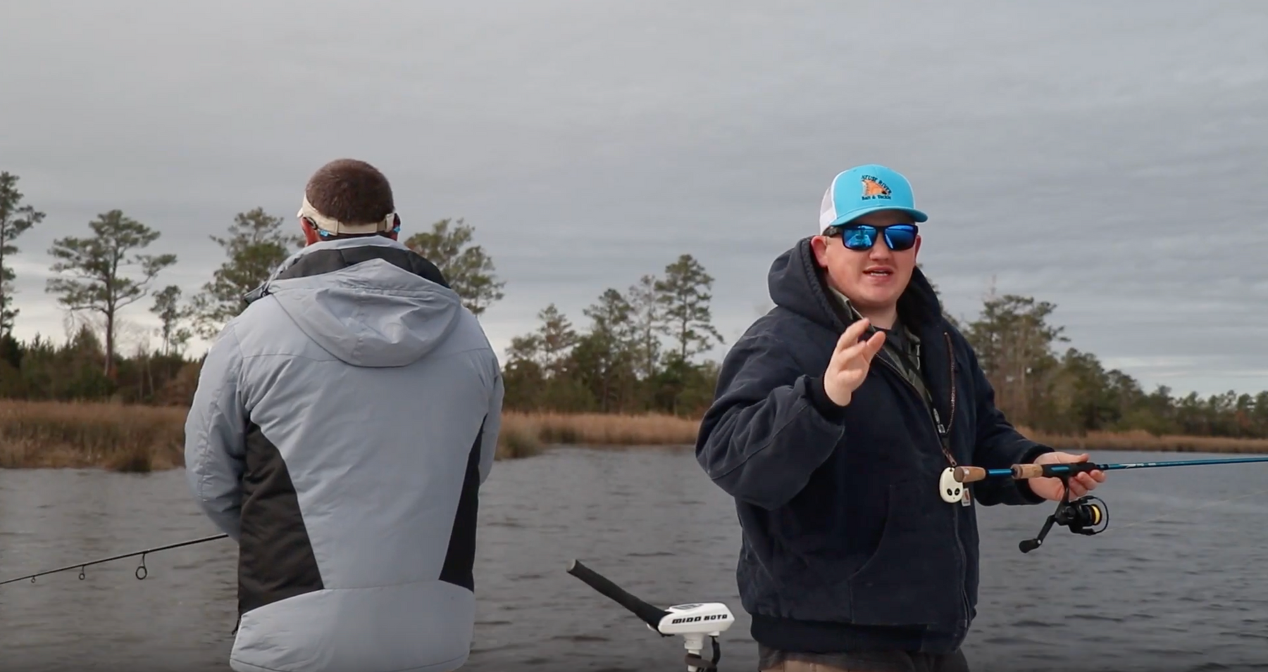 LURE VS LURE EP. 3- STORM VS BILLY BAY- SPECKLED TROUT EDITION