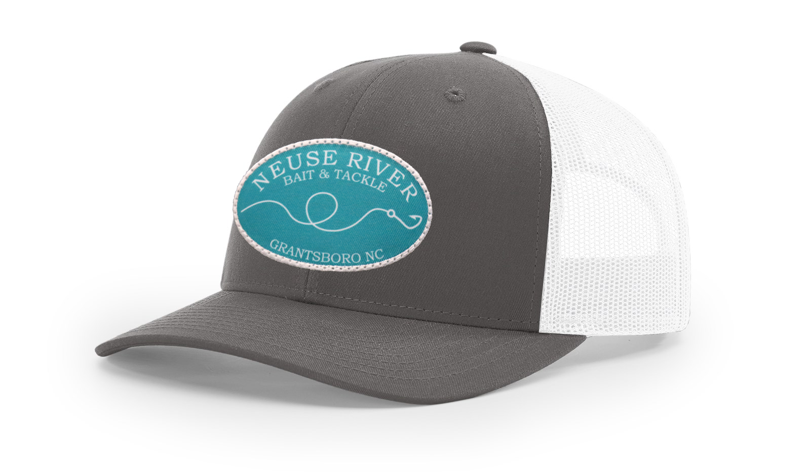 Hook & Line Patch Trucker Hat