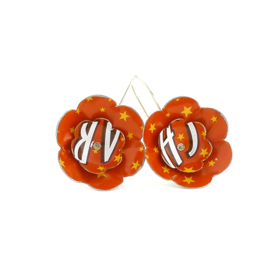 Medium Flower Bloom Earrings