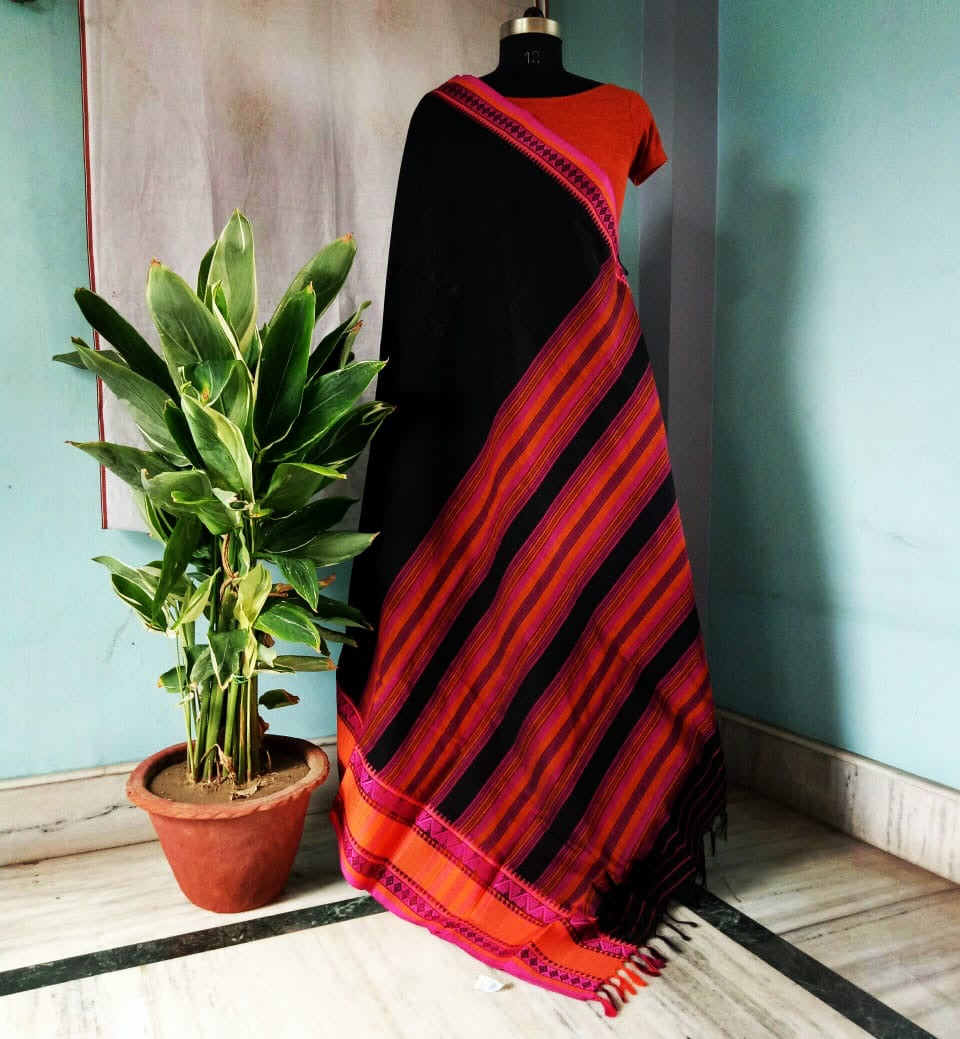 MCotton HANDLOOM Begampuri SAREE DAILY WEAR