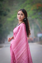 Load image into Gallery viewer, TUSSAR PLAIN SAREE
