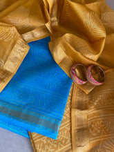 Load image into Gallery viewer, PREMIUM QUALITY MAHESHWARI SILK SUIT PIECE