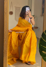 Load image into Gallery viewer, TUSSAR GHICHA PLAIN SAREE