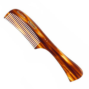Kent 170mm Rake Comb - Medium Sized, Suitable for wet/thick hair.
