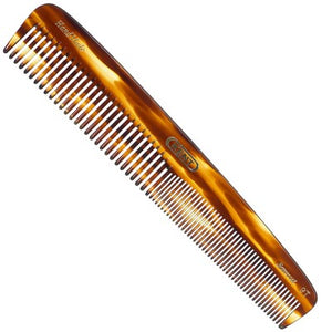 Kent A 9T: 190mm Dressing table comb - coarse/fine.