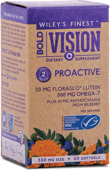 Wiley's Finest Bold Vision Proactive ( 60 capsules )