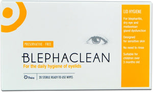 Blephaclean Lid Wipes (20 pck)