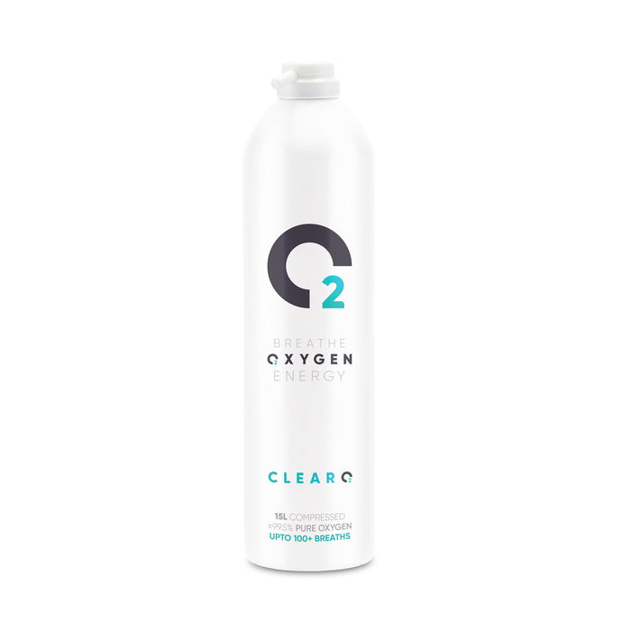Clear O2 (15L Oxygen Can Replacement for Mask and Tube)