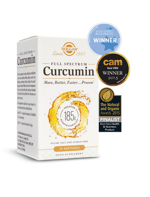 Solgar Full Spectrum Curcumin Softgels-Pack of 90