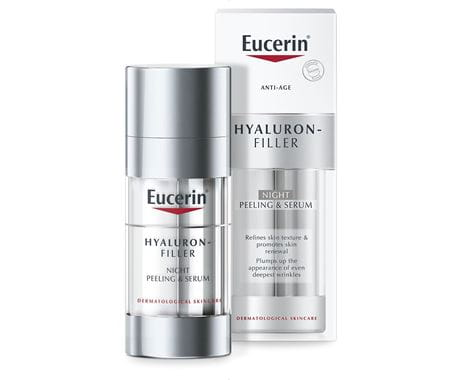 Eucerin Hyaluron-Filler Night  Peeling & Serum 30ml