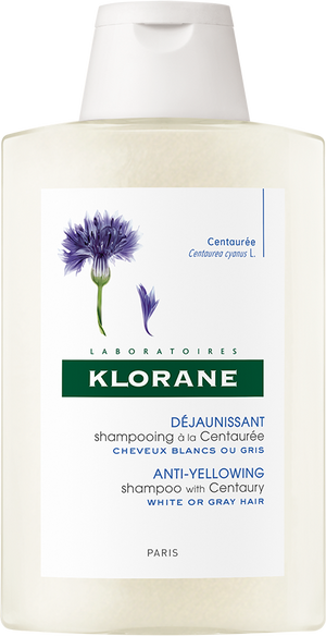 Klorane Anti-Yellowing Shampoo with Centaury (200ml)