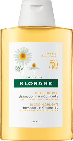 Klorane Blond Highlights shampoo with Chamomile (200ml)