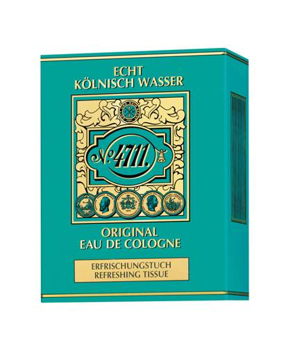 4711 Original Eau de Cologne Tissues 10pcs (78% Alcohol Content)
