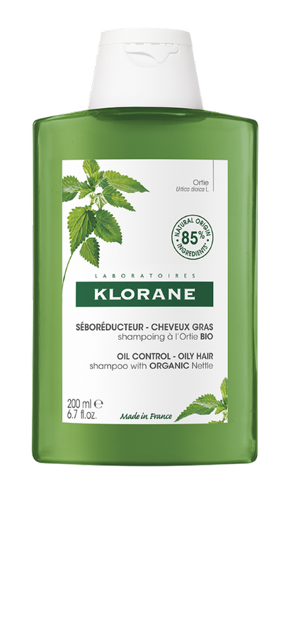 Klorane Oil Control Shampoo with Nettle (200ml)