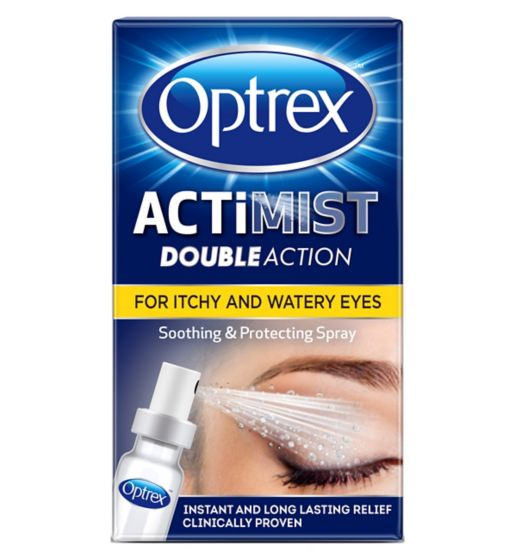 Optrex Actimist Double Action for Itchy & Watery Eyes - 10ml