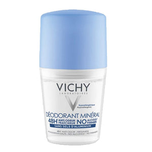Vichy Deodorant Mineral 48hr Roll On ( Aluminum Salt Free )