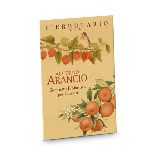 L'erbolario Accordo Arancio - Perfumed sachets for Drawers