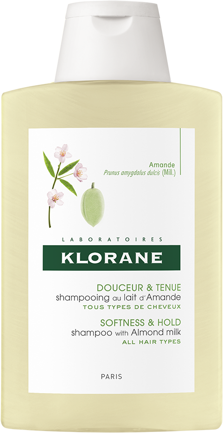 Klorane Softness & Hold Shampoo with Almond Milk (200ml)