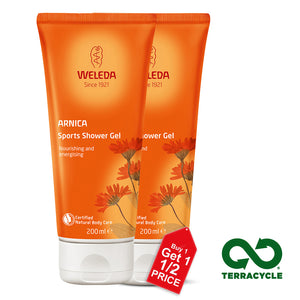 Weleda Arnica Sports Shower Gel 200ml X 2