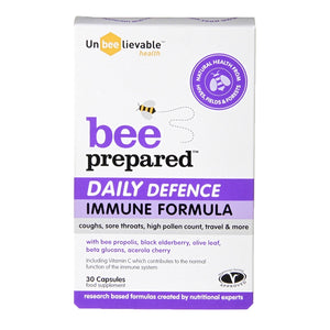Unbeelievable Bee Prepared Daily Defence (30 Capsules)