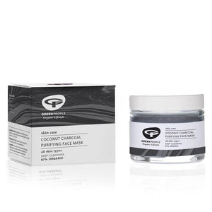 Green People Coconut Charcoal Purifying face Mask ( 50ml )