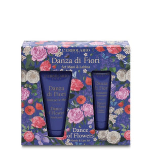 L'erbolario Dance of Flowers Hands & Lip Set