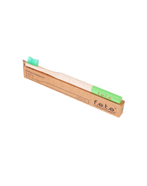 Bamboo Toothbrush Firm Green(f.e.t.e)