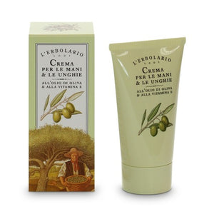 L'erbolario Hands - Hand and Nail Cream - 75 ml With Olive Oil & Vitamin E
