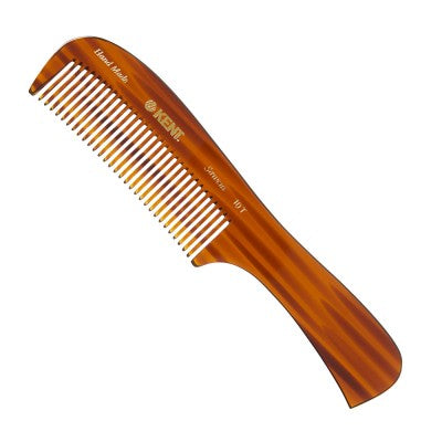 Kent 199mm Large handled rake comb - Suitable for wet/thick coarse hair