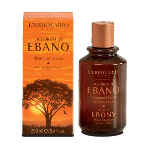 L'erbolario Notes of Ebony Shower Shampoo 250ml