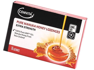 Comvita Pure Manuka Honey Lozenges UMF 10+ (16 lozenges)