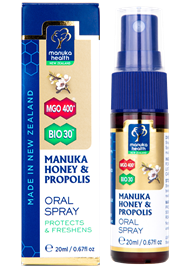 Manuka Honey and Propolis Throat Spray