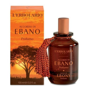 L'erbolario Notes of Ebony Perfume 50ml