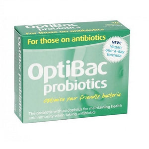 Optibac For Antibiotics Capsules 30