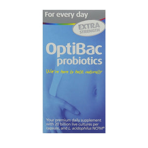 Optibac For Everyday extra strength Capsules 30