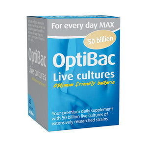 Optibac For Everyday Maximum Strength Capsules 30