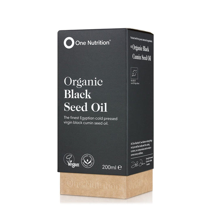 One Nutrition Organic Black Seed Oil 200ml