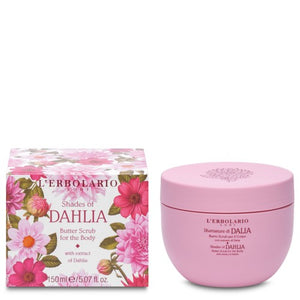 L'Erbolario Shades of Dahlia Body Butter Scrub (150ml)