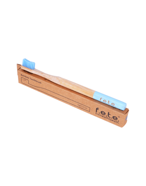 Bamboo Toothbrush Soft Light Blue (f.e.t.e)